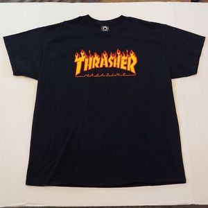 Classic Thrasher spellout tee